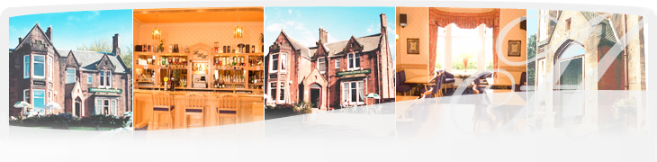 Hotel in Dumfries, Scotland. Huntingdon House Hotel, Dumfries.